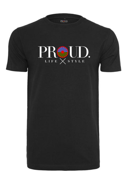 Pikey tshirt Groot logo wiel