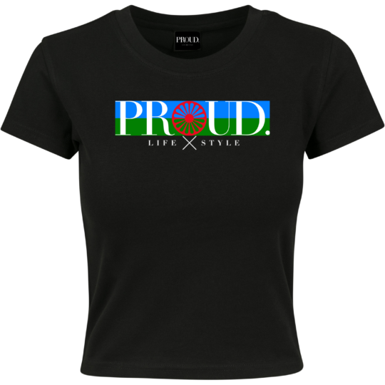 PROUD.ROOTS CROPPED TEE VLAG