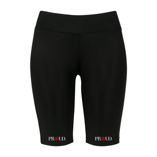PROUD.ROOTS CYCLE SHORTS RED WEEL