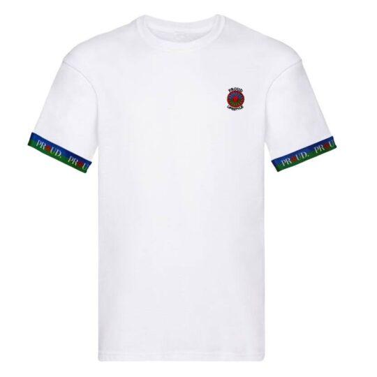 proud traveler white Flag